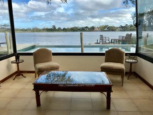 alquiler casa 5 dormitorios carrasco con vista al lago!