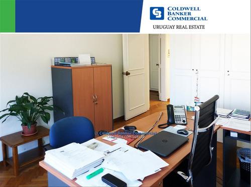 alquiler - casa para oficina equipada - pocitos.