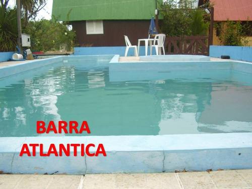 alquiler casas  4,6y8 personas barra del chuy brasil,alvorada.complejo barra atlantica.tel:099044571