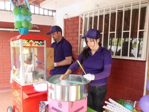 alquiler castillo inflable, c. elástica, pop, algodón,helado