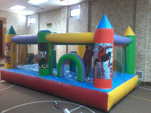 alquiler  castillo inflable cama elastica futb tejo arcade,,