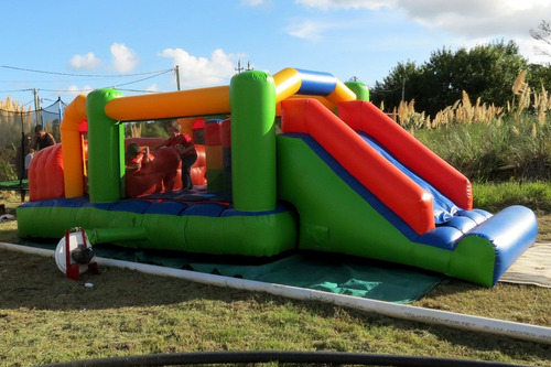 alquiler castillo inflable cama elastica pop algodon burbuj