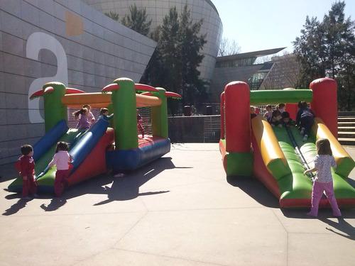 alquiler castillo inflable pelotero camas elasticas promos!!