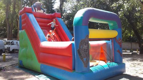 alquiler castillo inflable toro mec, rampa araña, princesas
