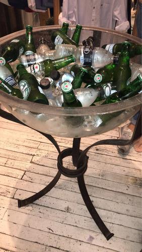 alquiler de champagnera en acrílico o venta.