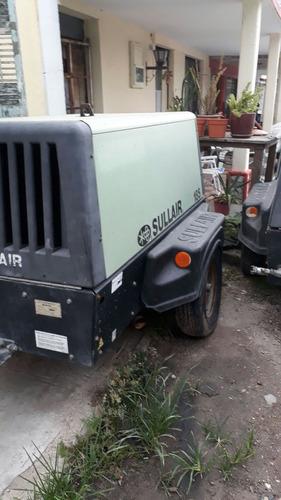alquiler, de compresor y martillo neumáticos con operador.
