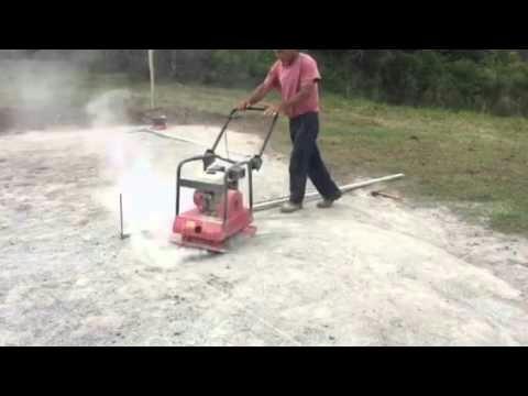 alquiler de herramientas plancha vibradora compactadora