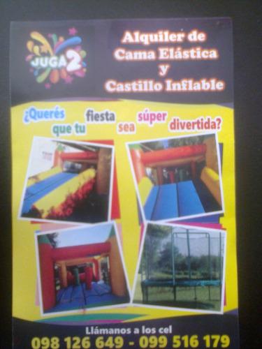 alquiler de inflables y camas elasticas