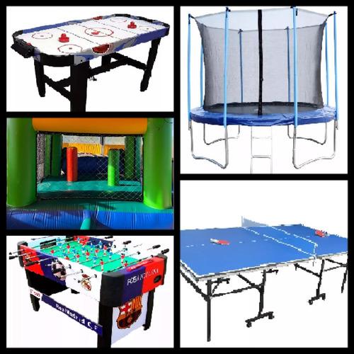 alquiler de juegos inflables y entretenimiento para fiestas