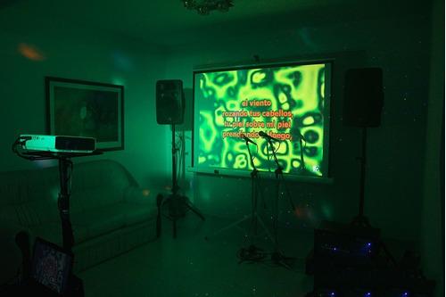 alquiler de karaoke y discoteca con animadores muy divertido