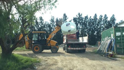 alquiler de maq. vial: bobcat, retro, camion, compactador