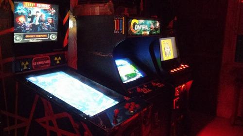 alquiler de maquinitas arcade