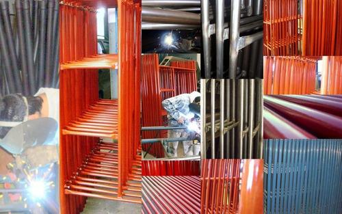 alquiler de plataformas tijera andamios puntales escaleras