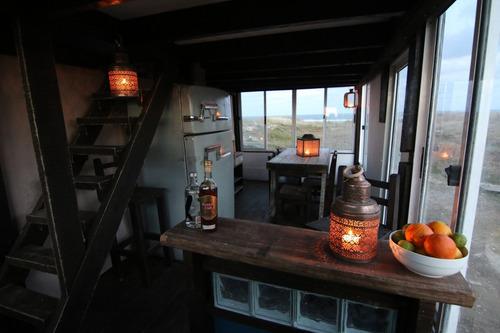 alquiler de rancho casa cabaña en cabo polonio frente al mar
