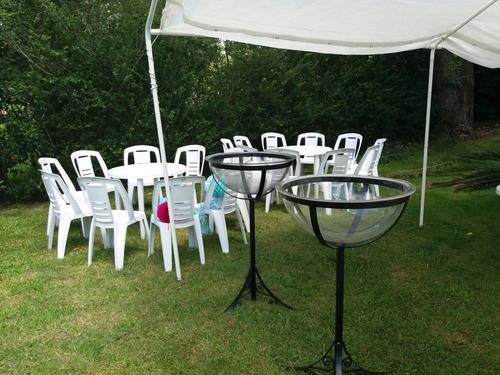 alquiler de sillas, mesas, manteleria, vajilla