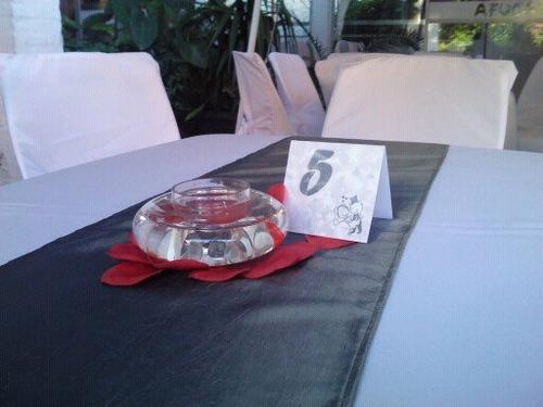 alquiler de sillas, mesas, manteleria y vajilla