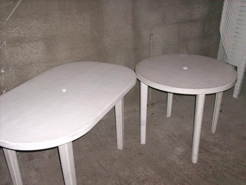 alquiler de sillas y mesas en pvc