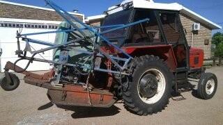 alquiler de tractor. fardos, pasturas , canchas de futboll