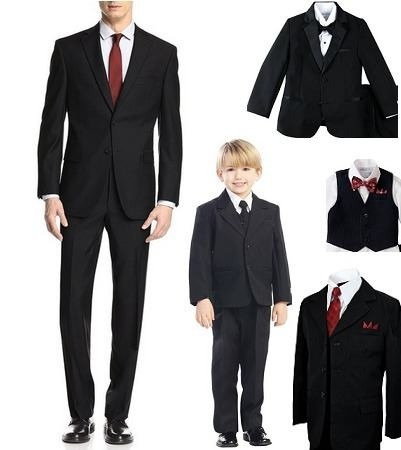 alquiler de trajes de hombres, dama y niños