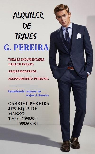 cd236c7637e0a Alquiler De Trajes Para Caballeros( Solo Modernos) -   1.800 en ...