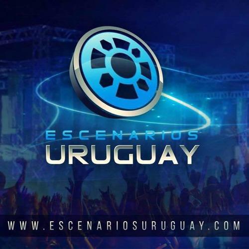 alquiler de vallas - escenarios uruguay