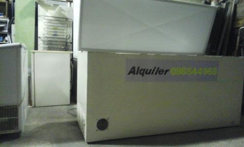 alquiler freezer 24 horas 300litros $1700.600litros $1900