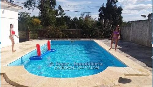 alquiler hermosa casa en costa azul con piscina