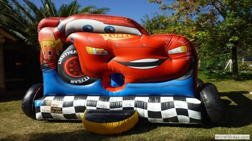alquiler inflables mickey cars ring de box zona sur