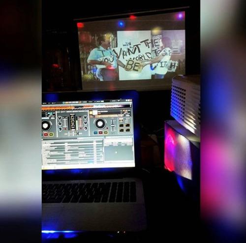 alquiler karaoke con o sin operador discoteca proyector etc
