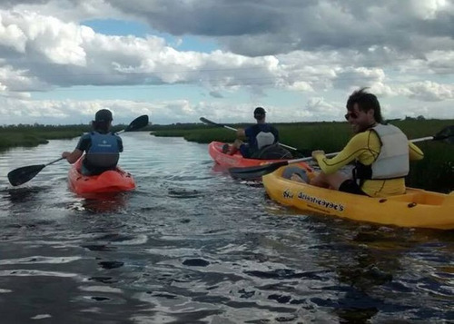 alquiler kayak, bote /lancha aluminiotrailer oferta invierno