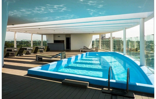 alquiler lunas de malvin 1 dormitorio terraza piscina garage