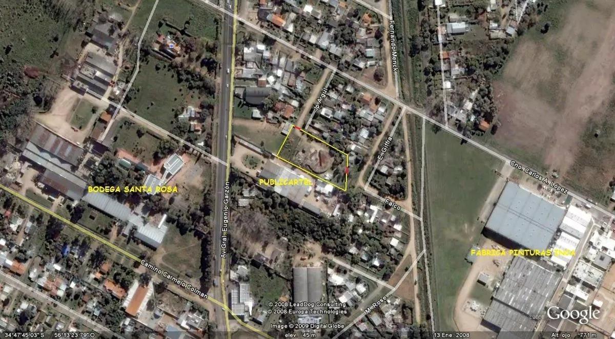 alquiler o venta de terreno industrial de 4.340 m2 en colón