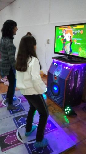 alquiler plataforma de baile just dance inflables toro.
