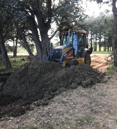 alquiler retroexcavadora-limpieza de terrenos-camiones y más