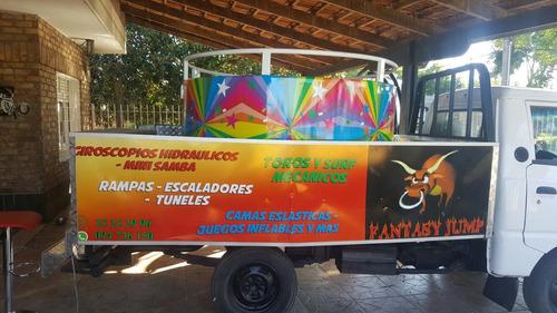 alquiler toros mecanicos,surf,mini samba,giroscopios y mas