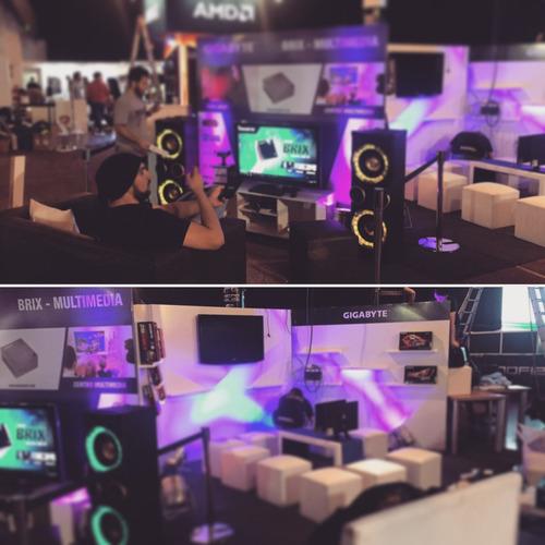 alquiler tv lcd led pantalla sonido iluminación eventos expo