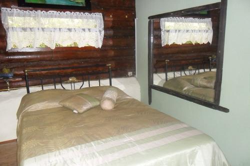 alquiler villa serrana hermosas cabañas!! solo 2 pers