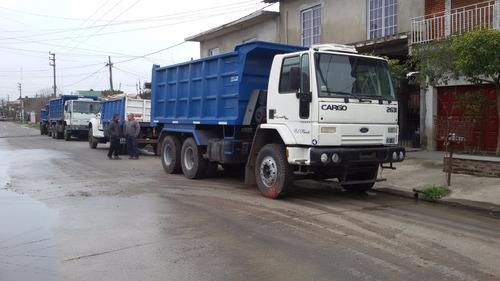 alquiler/servicio camiones volcadores 4x2-6x4-8x4 santivial