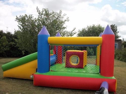 alquilo castillo inflable y cama elástica!!