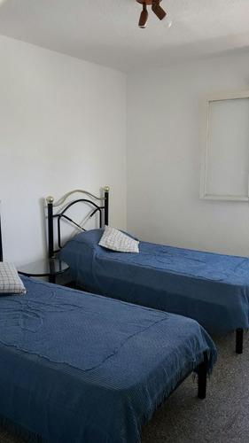 alquilo por dia apto. 2 dormitorios amueblado - centro mdo.
