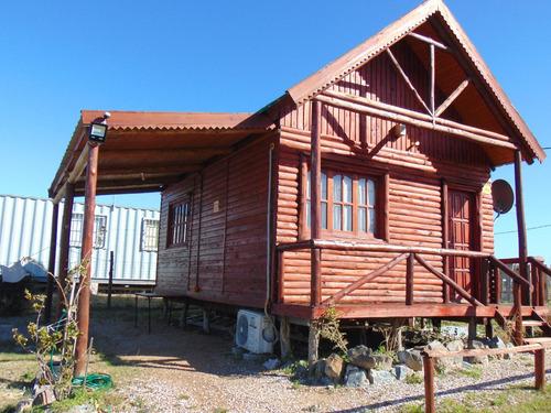 alquilo temporada hermosa cabaña madera, san luis, canelones