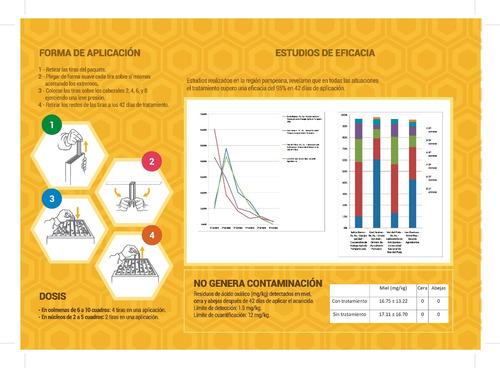 aluen cap acaricida orgánico contra la varroa, apicultura.