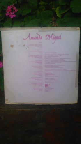 amanda miguel - el sonido vol. 1 (lp)