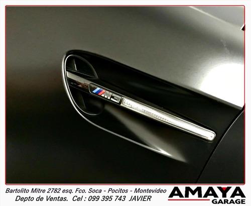 amaya garage bmw serie m m3 frozen black edition !! unico!!!