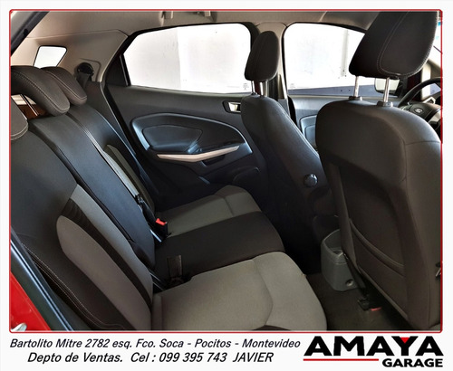 amaya garage ford ecosport 1.6 freestyle 110cv 4x2 año 2013