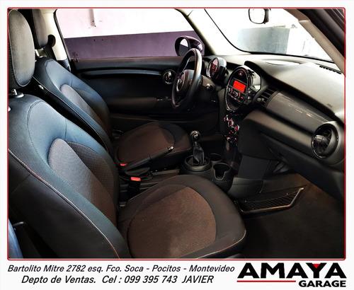 amaya garage mini cooper 1.5 año 2015 transmision manual