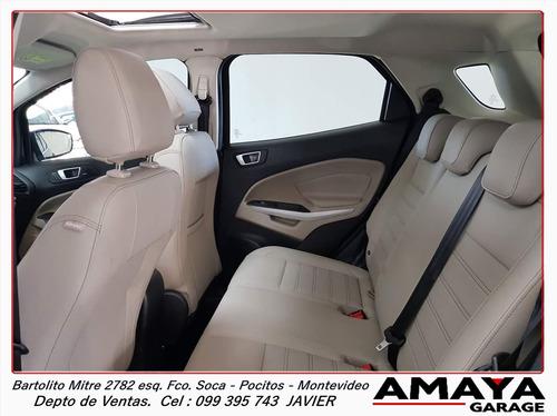 amaya garage nueva ford ecosport titanium  automatica 0km