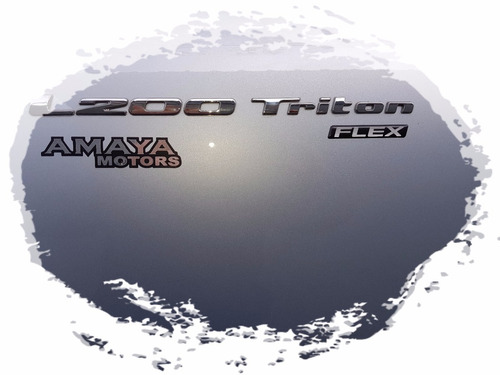 amaya mitsubishi l200 outdoor tritton 2.4 flex 4x2 manual