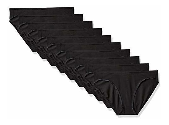 nueva productos calientes vista previa de sitio web profesional Amazon Essentials Bragas De Mujer Algodon Bikini Elastico, P