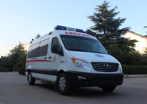 ambulancia jac sunray